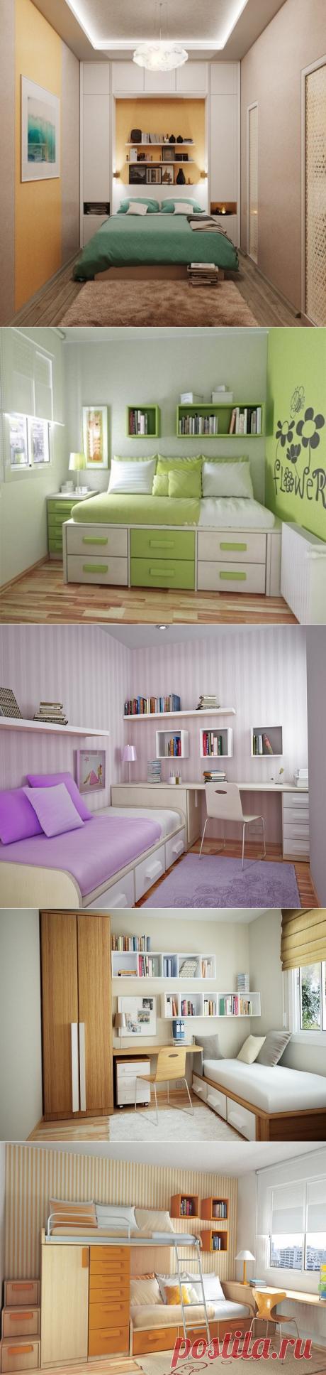 Идеи оформления маленькой спальни, которые придутся по душе всем, кто страдает от недостатка свободного места | Мой дом