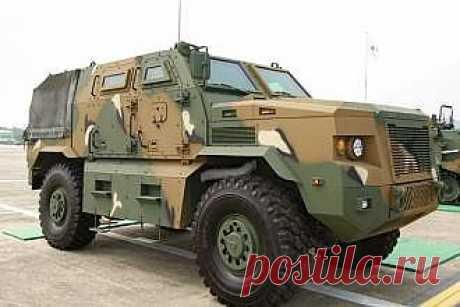 Doosan DST представила свой новый вариант бронеавтомобиля класса MRAP - свежие новости Украины и мира
