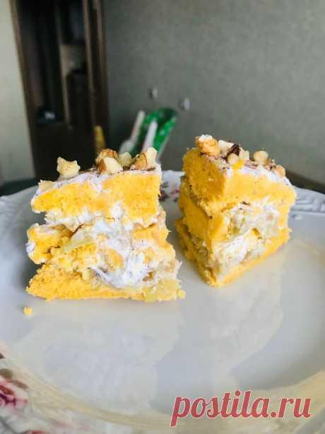 Рецепт торта за 8 минут! Можно съесть хоть весь - не потолстеешь! | Похудела на 25 кг! | Яндекс Дзен