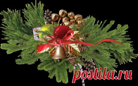 Новогодний клипарт декор PNG
