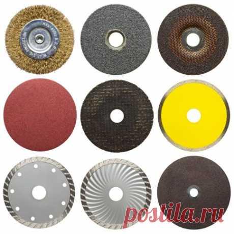 Какие бывают диски для болгарки? Каким кругом резать? Какой стороной ставить?