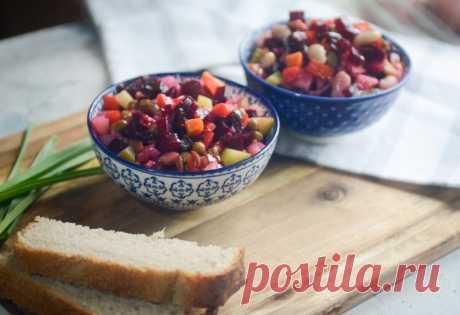 Три секрета идеального винегрета. И новая заправка, которая делает скучный салат праздничным блюдом   Дауншифтеры   Яндекс Дзен