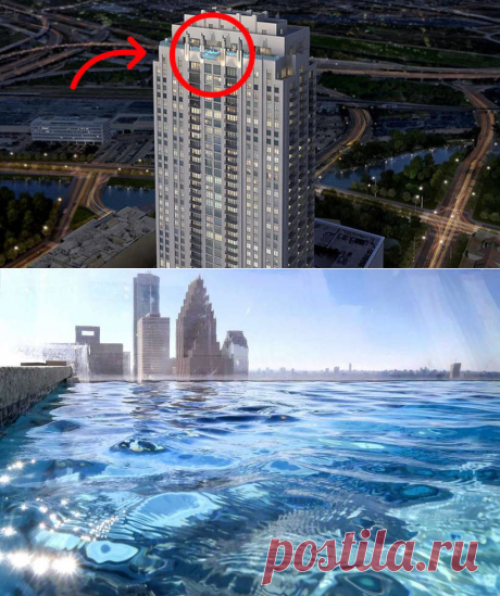 Это самый страшный бассейн в мире! Только безумец решится поплавать в нем!