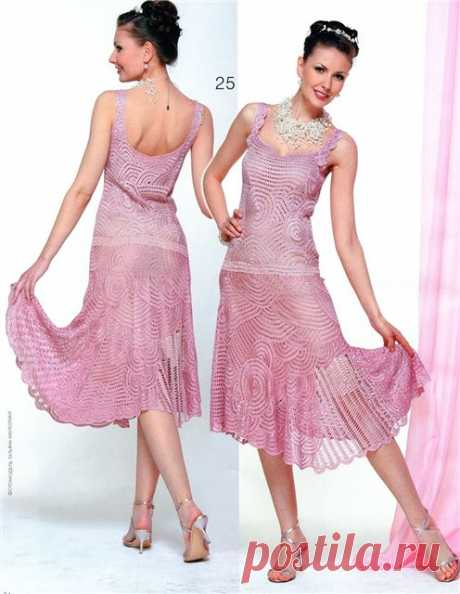 Платье лентами и не только