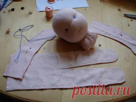 >Подробный МК по Вальдорфской кукле.