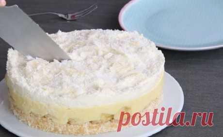 Когда сломалась духовка, научилась делать банановый торт, от которого детвора в восторге