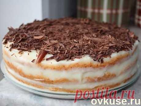 """Торт """"Быстрый Наполеон"""". - Простые рецепты Овкусе.ру"""