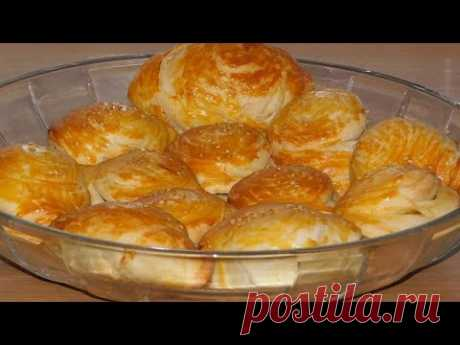 The most gentle puff pies \/ rolls - YouTube