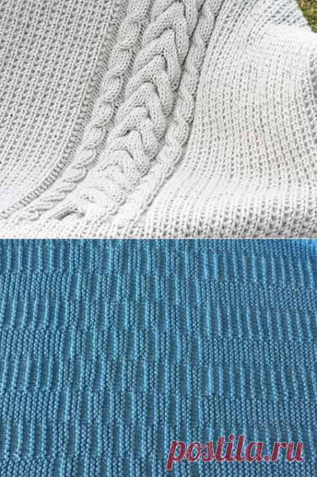 135 идей для вязания пледа | Блог лентяйки | Яндекс Дзен
