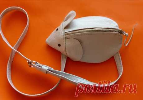 Сумочка-мышка — Рукоделие