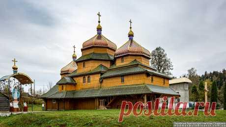 Турье. Церковь св.Николая. 1690 Львовская область