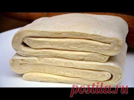 ✧ БЫСТРОЕ СЛОЕНОЕ ТЕСТО За 15 минут! СЕКРЕТ Приготовления.. ✧  Puff pastry in 15 minutes ✧ Марьяна
