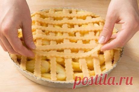 Для теплого, домашнего чаепития: Яблочный пирог по немецкому рецепту