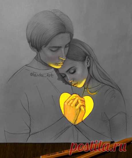 GLOWING SKETCHES by Lander в Instagram: «I love you.  Женя и Лена. Тут без комментариев, любите и будьте любимы❤️ Напишите в комментариях любимый смайл сердечка #watercolor #artist…» 14.1 тыс. отметок «Нравится», 432 комментариев — GLOWING SKETCHES by Lander (@lander_art) в Instagram: «I love you.  Женя и Лена. Тут без комментариев, любите и будьте любимы❤️ Напишите в комментариях…»