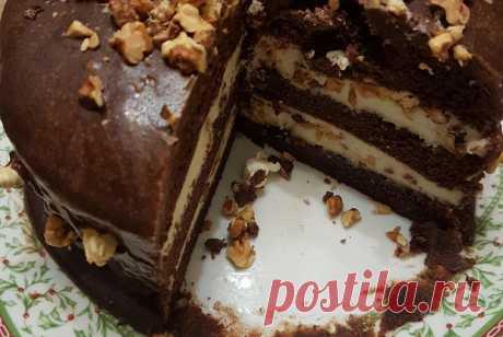 Торт «Прага» по старинному рецепту.