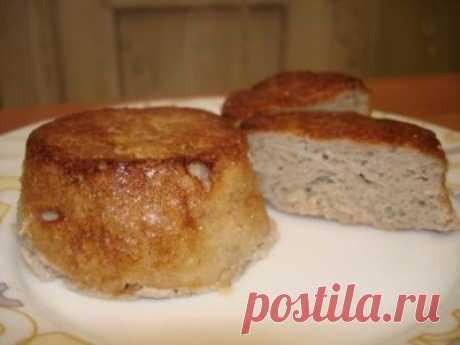 Мясные маффины - воздушные котлетки (обед система -60) : Вторые блюда