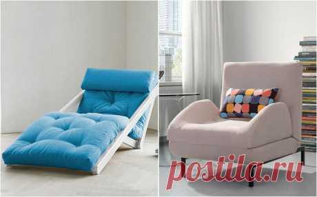 Современные кресла-кровати и диваны-книжки