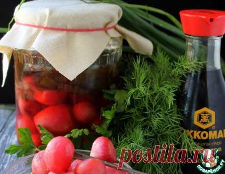Маринованный редис с зеленым луком – кулинарный рецепт