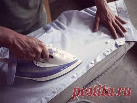 Как правильно гладить мужские рубашки / Домоседы
