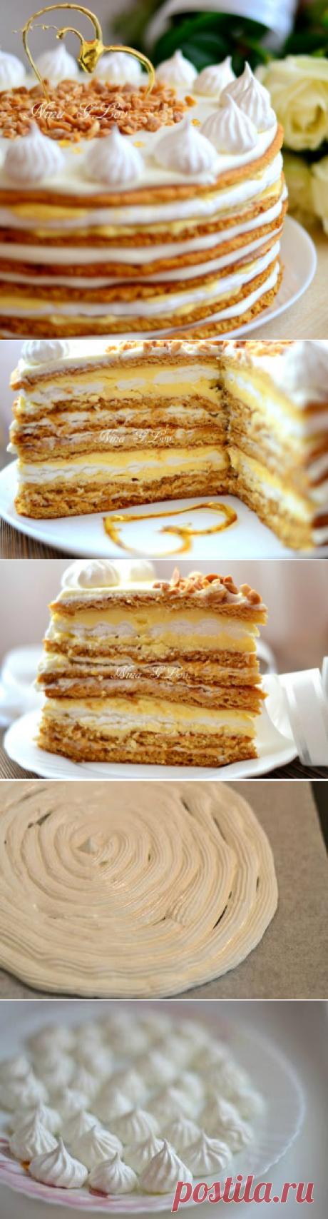 """Медовый торт """"Полет шмеля"""" (на мед) или """"Мое сладкое утро"""""""