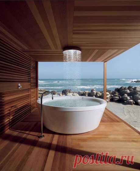 В такой ванной можно провести целый день 🛁