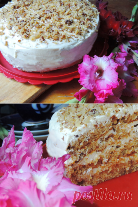 """Carrot cake \""""Autumn Whim\"""" - Lady of Mail.Ru"""