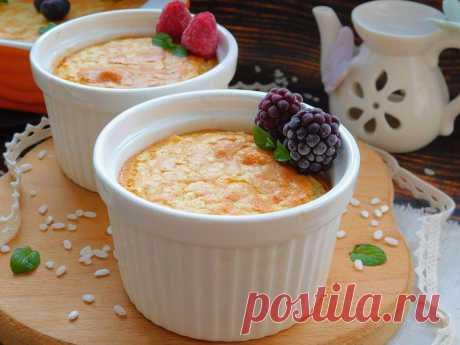 Рисовый пудинг: вкусный десерт в вашу кулинарную копилку | Рекомендательная система Пульс Mail.ru