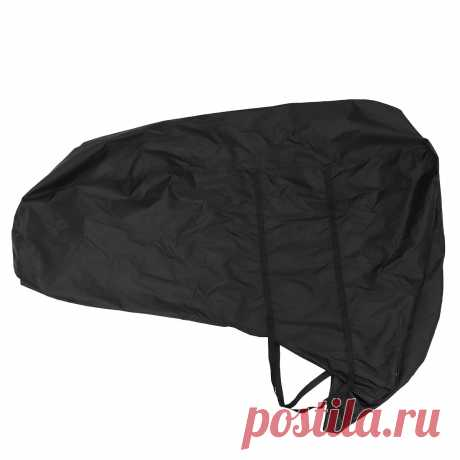 420d 5-150hp black boat full outboard engine motor cover waterproof dust protect Sale - Banggood.com