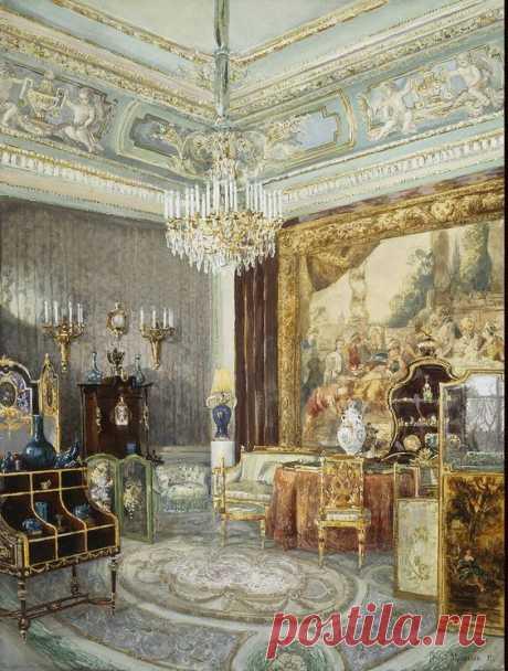Interior in the Anichkov Palace   Pinterest • el catálogo Mundial de las ideas