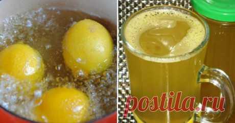 Польза лимонной воды - Женская страница