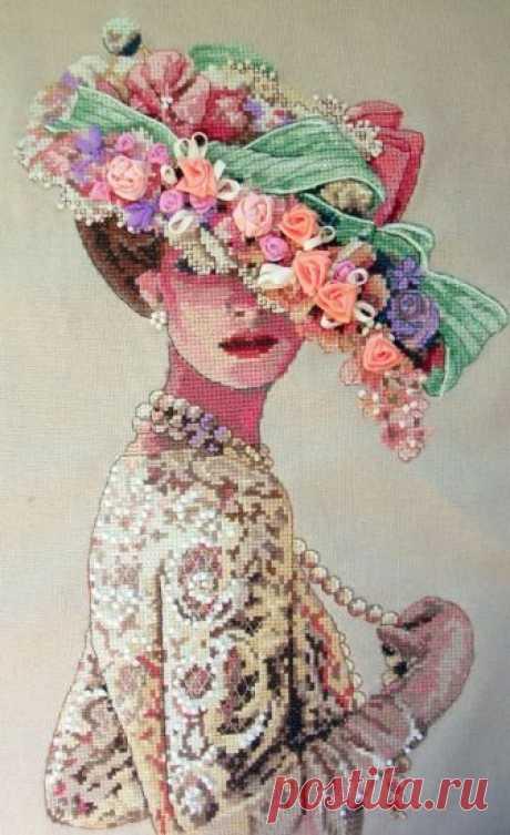 Викторианская элегантность | Скачать схему бесплатно Скачать Викторианская элегантность бесплатно. А также другие схемы вышивок в разделах: , Dimensions, Женщины