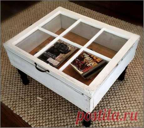 Креативные идеи, которые помогут превратить старое окно в произведение искусства