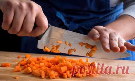 Режем овощи как профи: техника нарезки от шефа сокращает время втрое - Steak Lovers - медиаплатформа МирТесен
