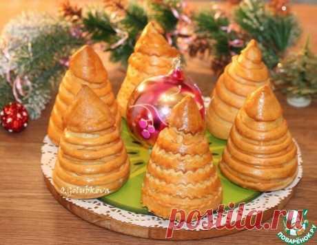 Пирожки румяные Елочки – кулинарный рецепт