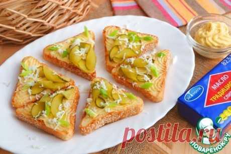 Яичное масло с горчицей – кулинарный рецепт