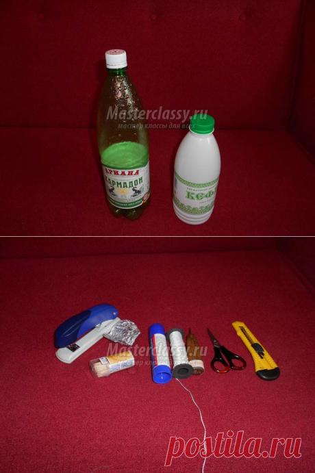 Игрушки из пластиковой бутылки. Мастер-класс с фото