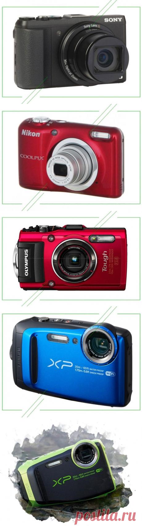 ТОП-7 лучших цифровых фотоаппаратов