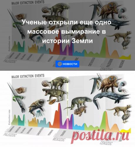 Ученые открыли еще одно массовое вымирание в истории Земли - Новости Mail.ru