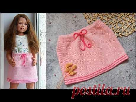 Юбка крючком | Детская юбочка крючком на любой размер | Юбка для девочки крючком