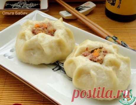 """Китайские паровые пампушки """"Баоцзы"""" – кулинарный рецепт"""