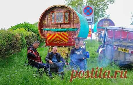 Конная ярмарка Эпплби — самое большое собрание цыган в Европе . Тут забавно !!!