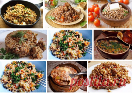 Top-9 the most tasty dishes with buckwheat