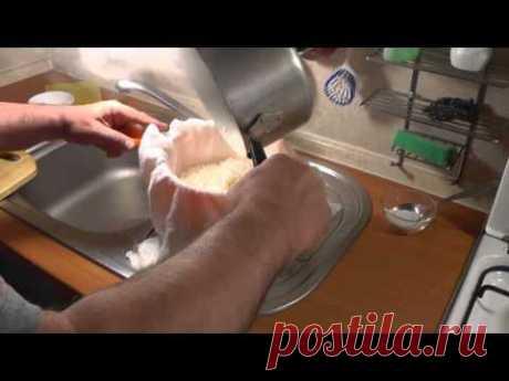 El queso de casa en 9,5 minutos. Simplemente, es sabroso, a buen precio. - YouTube