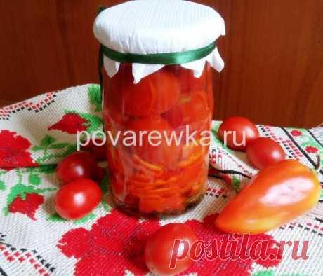 Маринованные помидоры на зиму: ну очень вкусные