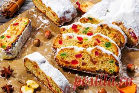 Штоллен - традиционная немецкая рождественская выпечка | Fresh.ru домашние рецепты | Яндекс Дзен