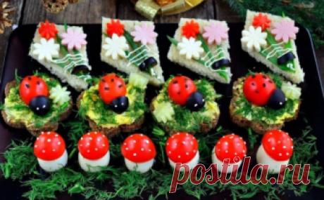 Идеи закусок на Новогодний стол | Едим вместе | Яндекс Дзен
