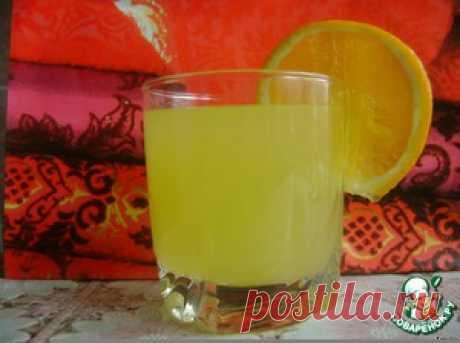 Апельсиновый напиток - кулинарный рецепт