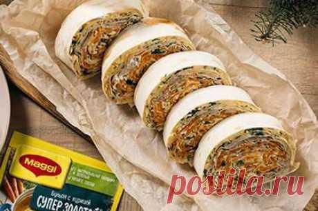 Вкусный овсяный пирог на кефире — пирог из овсяных хлопьев с вареньем | maggi.ru
