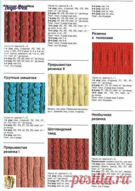 Огромное количество видов резинок — DIYIdeas