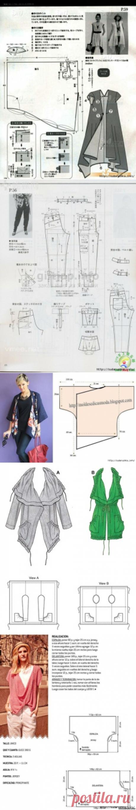 Los patrones-esquemas para boho del estilo